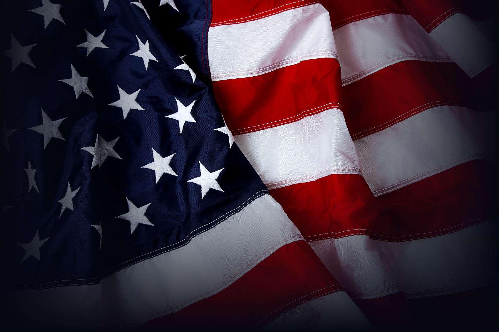 American Flag Background  U2013 Shot And Lit In Studio  U2013 Ois