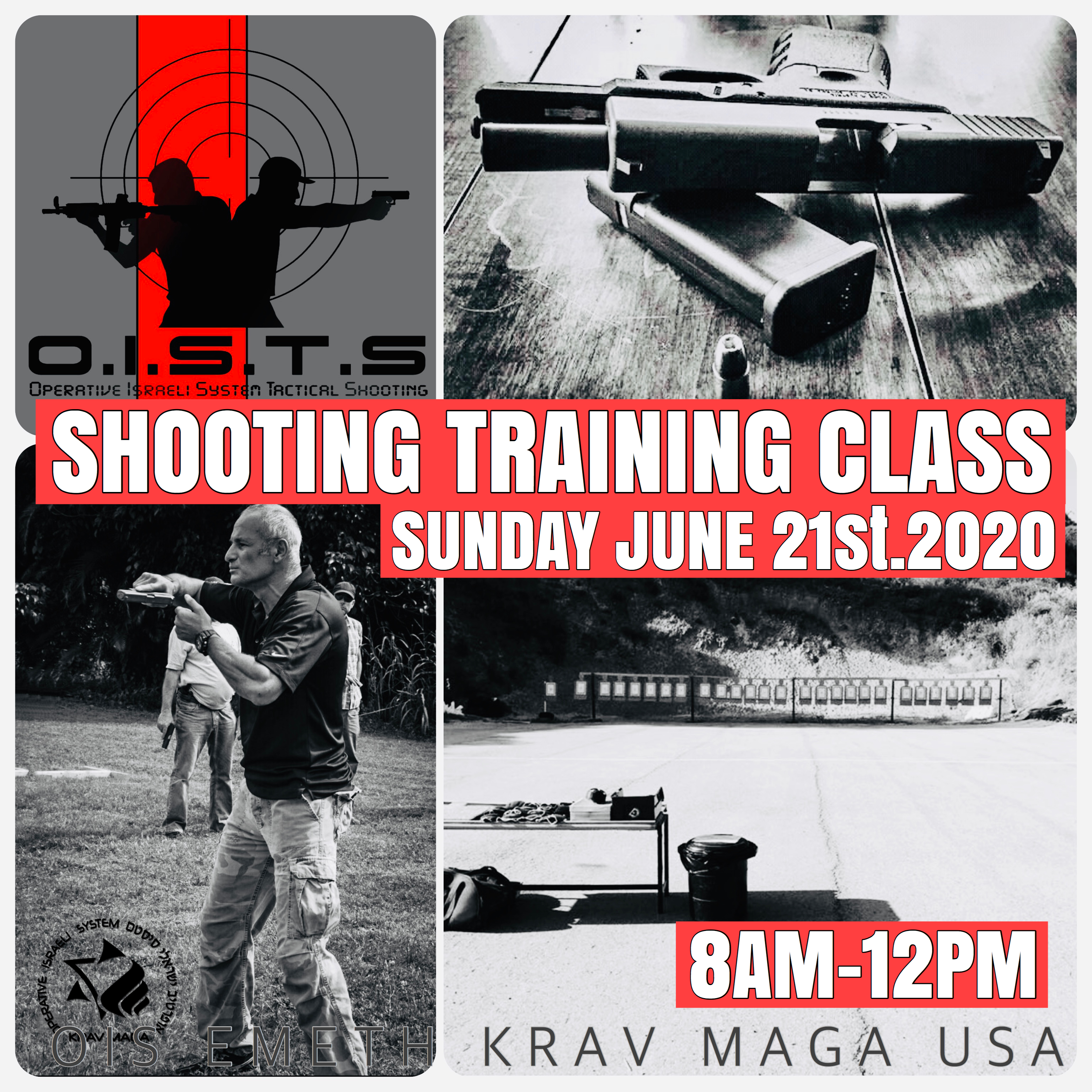Pistol Shooting Training Group Class