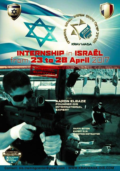 Stage krav maga Israël 2017
