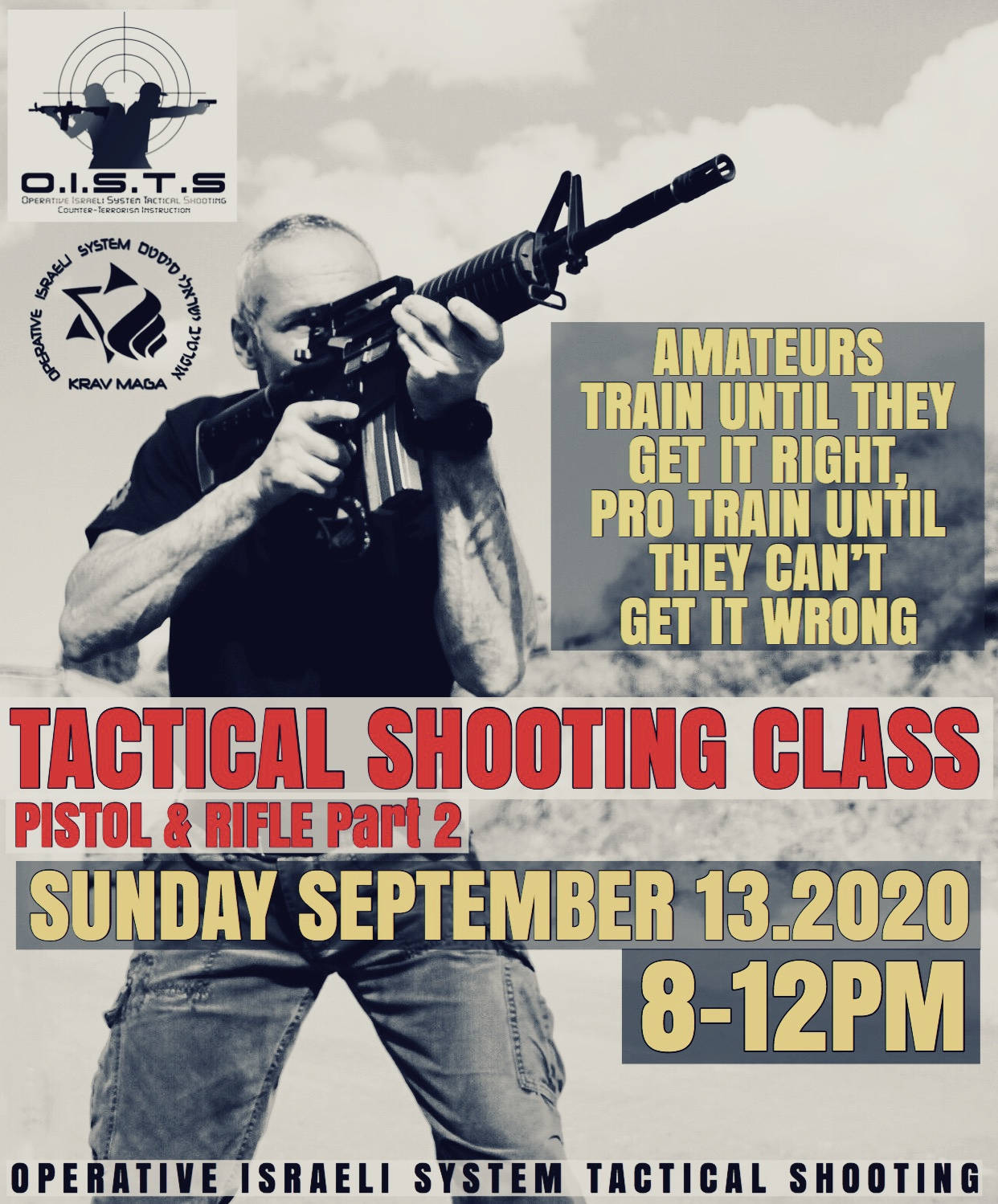 KRAV MAGA TACTICAL SHOOTING GROUP CLASS